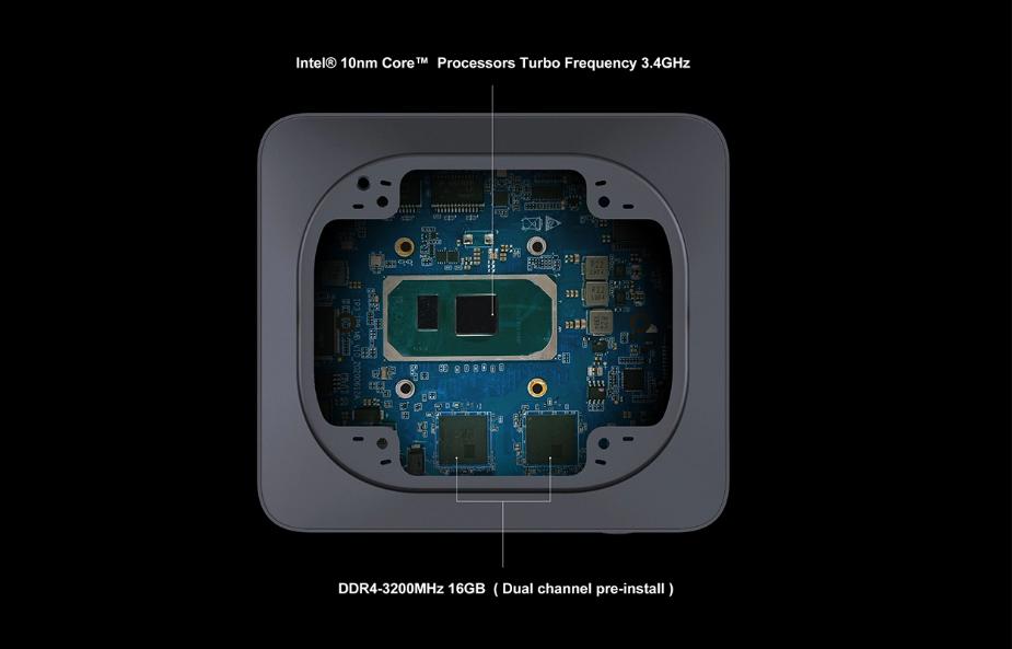 PC bỏ túi: RAM 16GB, chip Intel thế hệ 10, bộ nhớ Intel Optane ảnh 4