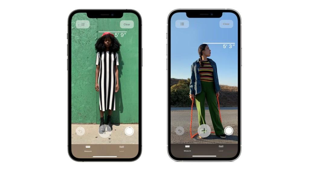 iPhone 12 Pro có tuyệt chiêu đo chiều cao con người ảnh 1