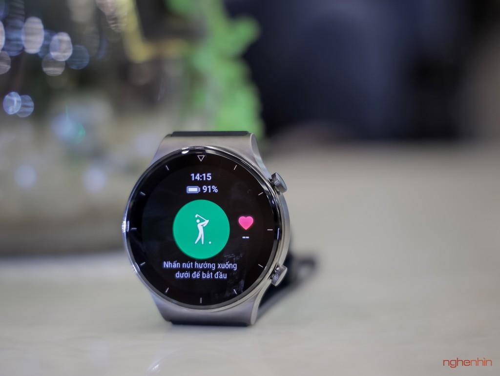 Trải nghiệm smartwatch Huawei GT 2 Pro: đẹp hơn, pin nửa tháng, chăm sóc toàn diện  ảnh 13