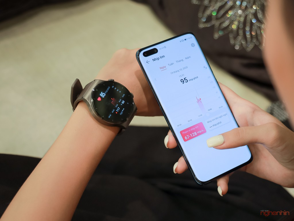 Trải nghiệm smartwatch Huawei GT 2 Pro: đẹp hơn, pin nửa tháng, chăm sóc toàn diện  ảnh 8