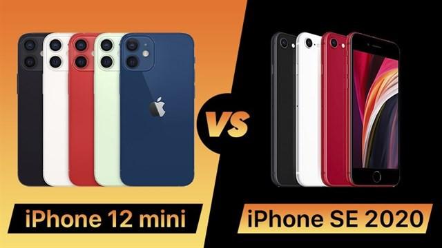 iPhone 12 Mini vs iPhone SE 2020: Lựa chọn nào cho bạn? ảnh 1