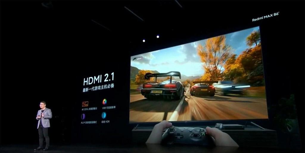Redmi MAX TV 86 inch ra mắt: tần số quét 120Hz, HDMI 2.1, Dolby Vision / Atmos ảnh 2