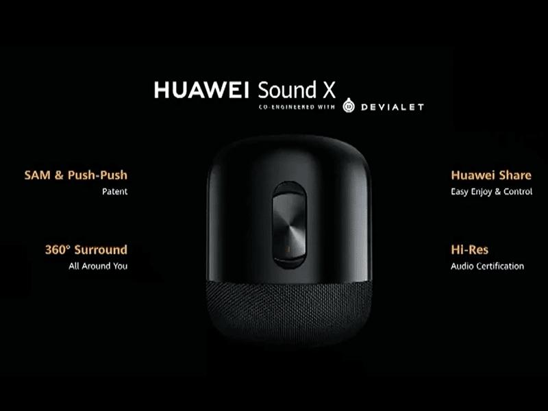 Huawei Sound X: Loa AI Hi-Res hợp tác với Devialet ra mắt ảnh 1