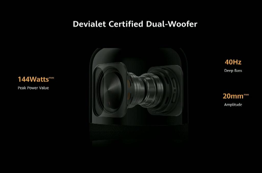 Huawei Sound X: Loa AI Hi-Res hợp tác với Devialet ra mắt ảnh 5