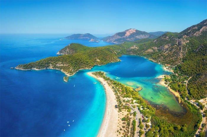 Bãi biển Blue Lagoon, Thổ Nhĩ Kỳ