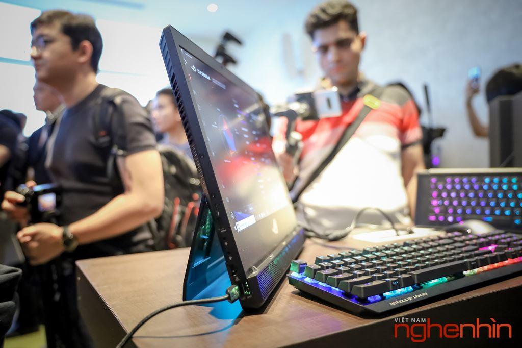 Computex 2019: Cận cảnh laptop chiến game siêu khủng ROG Mothership  ảnh 1