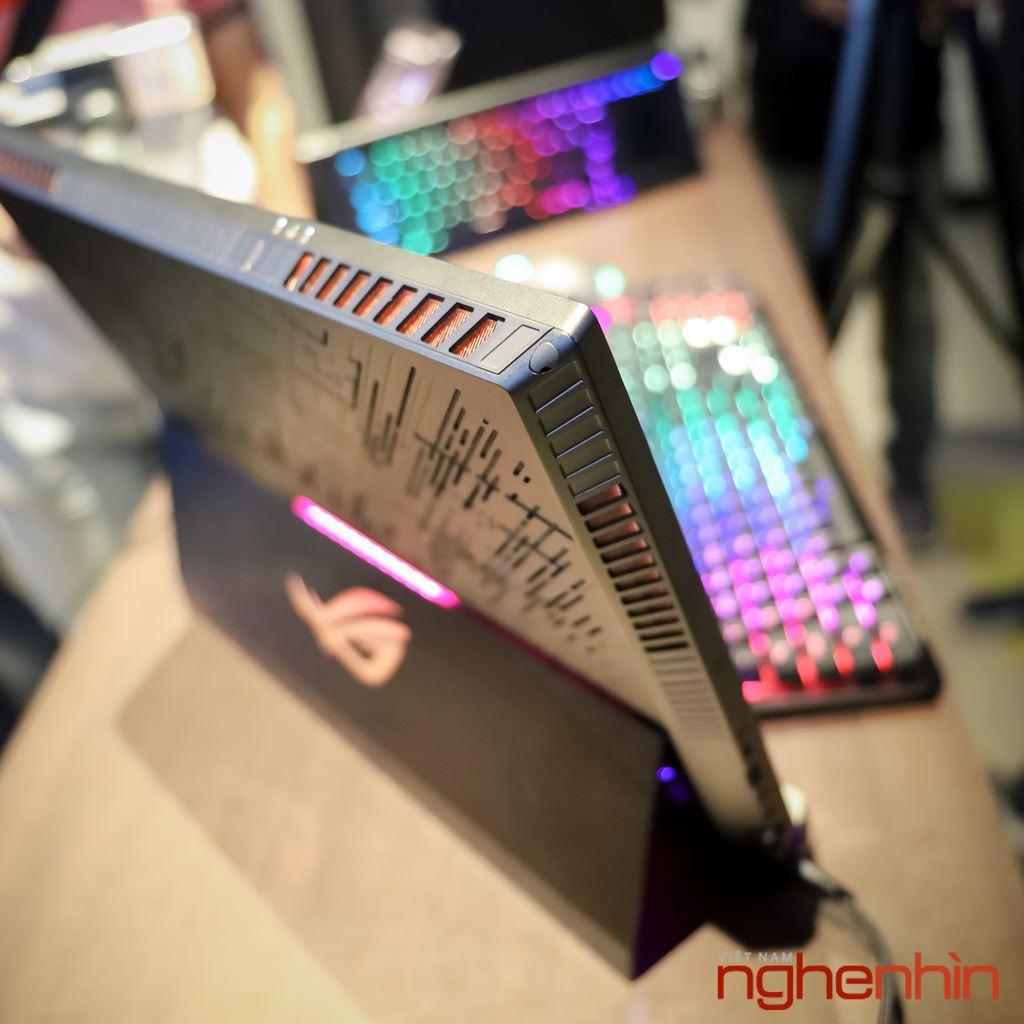 Computex 2019: Cận cảnh laptop chiến game siêu khủng ROG Mothership  ảnh 3