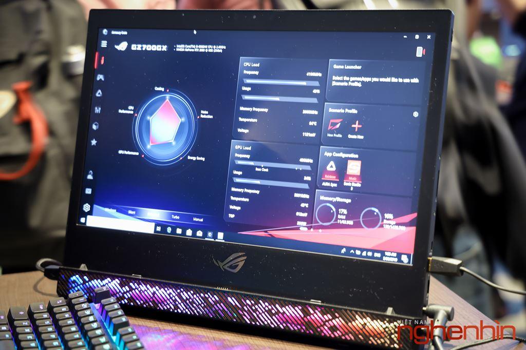 Computex 2019: Cận cảnh laptop chiến game siêu khủng ROG Mothership  ảnh 4
