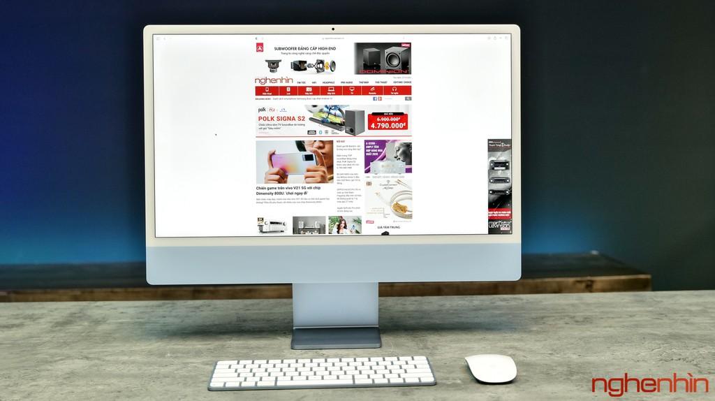 Trên tay iMac 24 inch 2021 tại Việt Nam: giá từ 33 triệu đồng, màu nổi bật, nhiều điểm nhấn ảnh 1
