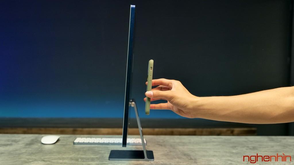Trên tay iMac 24 inch 2021 tại Việt Nam: giá từ 33 triệu đồng, màu nổi bật, nhiều điểm nhấn ảnh 15
