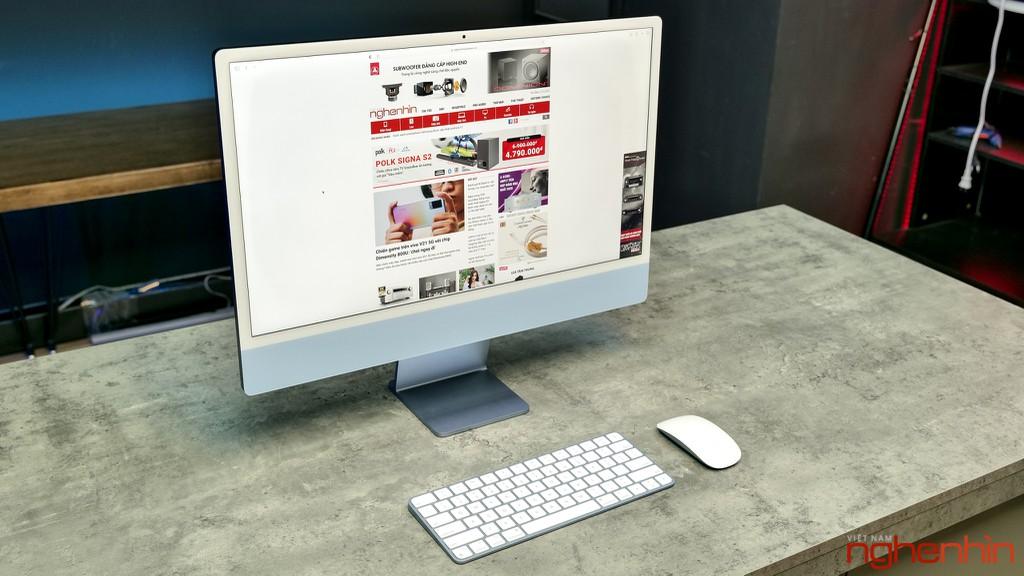 Trên tay iMac 24 inch 2021 tại Việt Nam: giá từ 33 triệu đồng, màu nổi bật, nhiều điểm nhấn ảnh 3