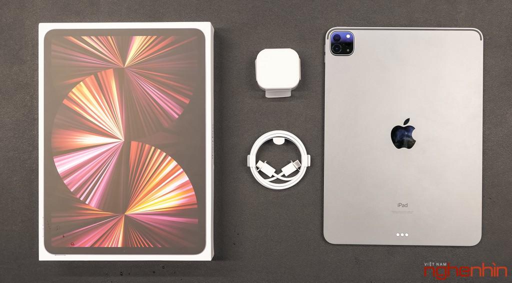 Trên tay iPad Pro M1 11 inch: giá trên 23 triệu đồng, tính năng Center Stage hữu ích ảnh 7