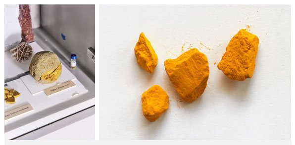 Màu vàng của Ấn Độ cực kỳ nổi tiếng...