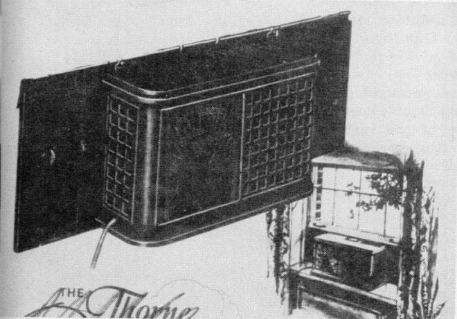 Nguyên mẫu điều hòa gắn cửa sổ đầu tiên.