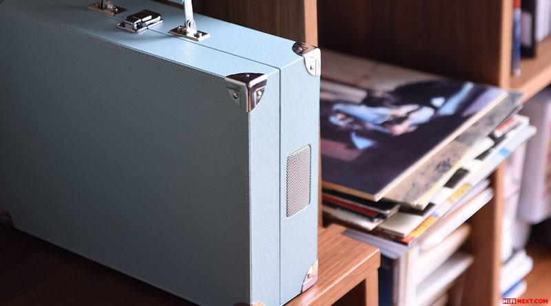 Onkyo OCP-1 - Đẹp ngỡ ngàng, mâm đĩa than có sẵn loa, ampli, nằm gọn trong vali di động ảnh 2