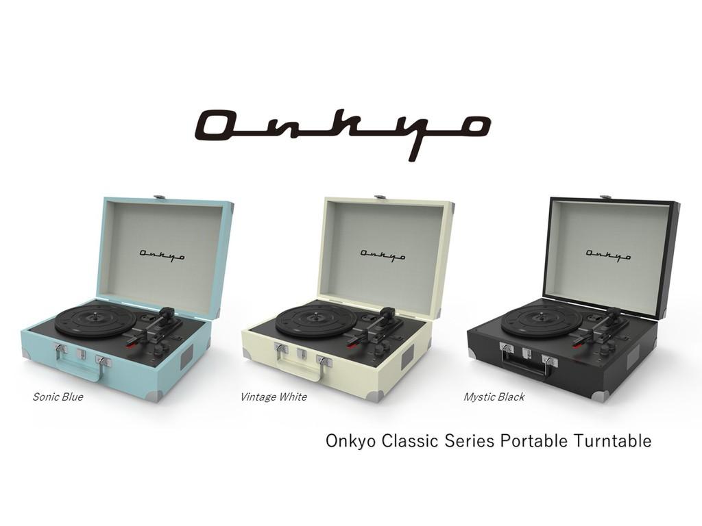 Onkyo OCP-1 - Đẹp ngỡ ngàng, mâm đĩa than có sẵn loa, ampli, nằm gọn trong vali di động ảnh 5