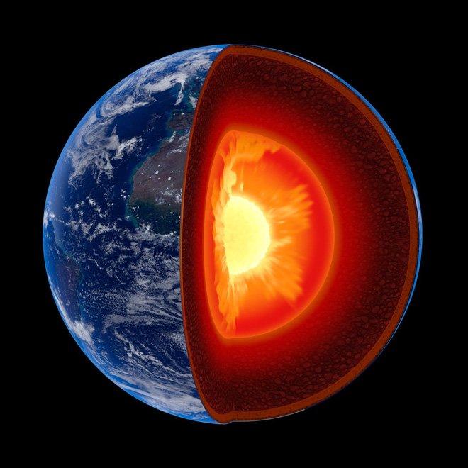 Có thể nói, nhờ có lõi Trái Đất (sinh ra từ trường) mà chúng ta mới có thể sinh tồn được