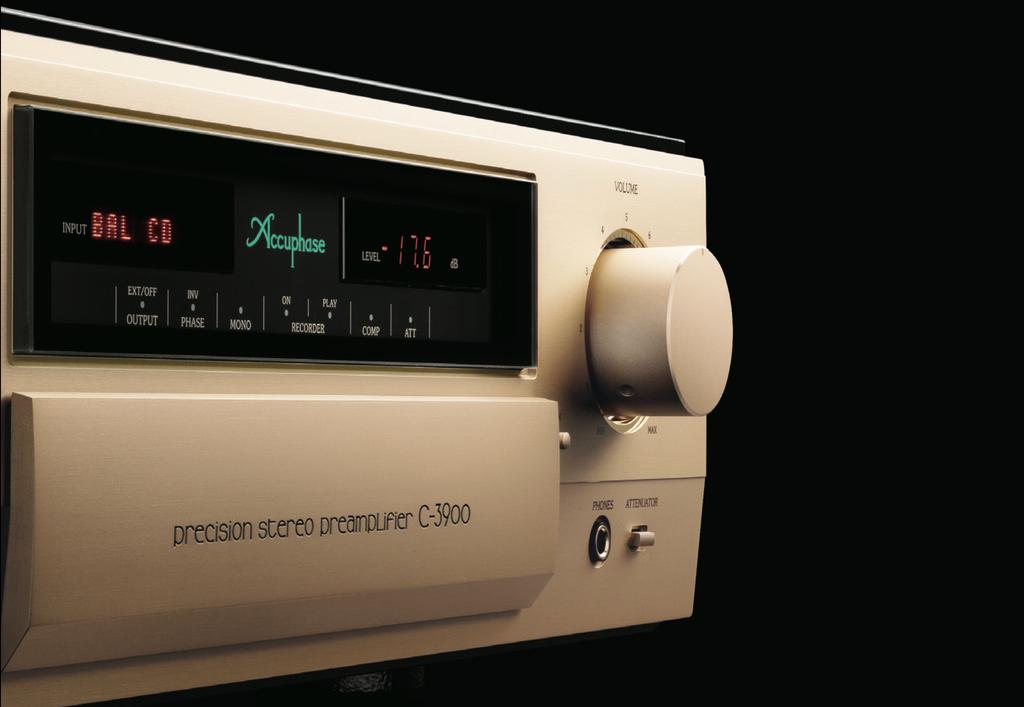 Preamp ultra hi-end Accuphase C-3900 kỷ niệm 50 năm, sở hữu đến 4 mạch volume AAVA ảnh 1