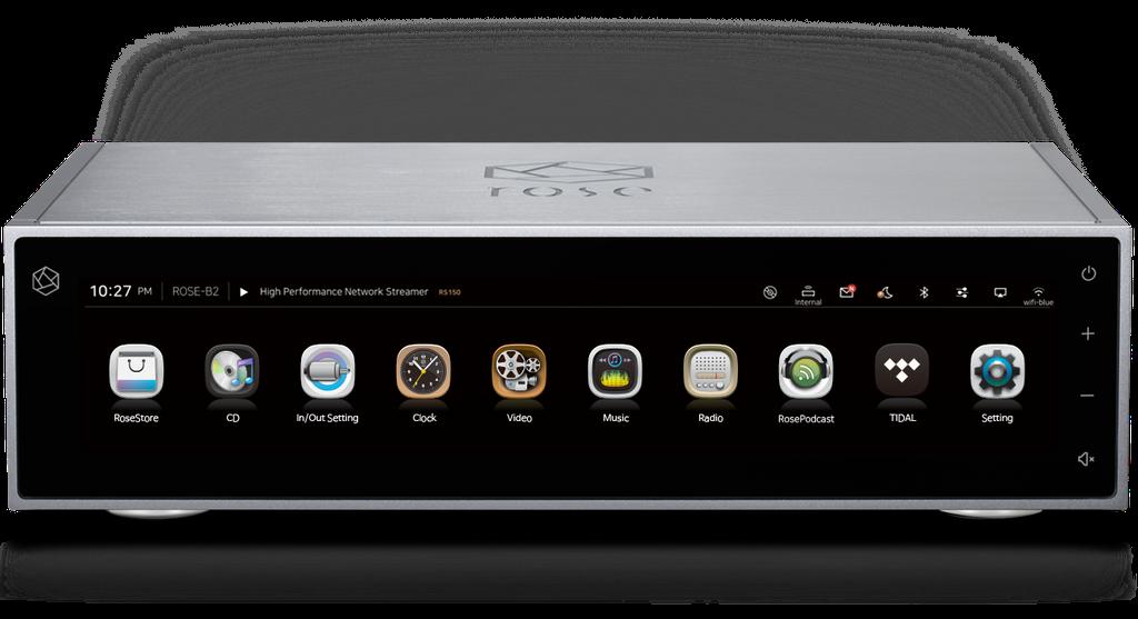 HiFi Rose RS150 - Đầu Streamer hi-end màn hình siêu lớn 15in, stream Youtube không quảng cáo ảnh 1