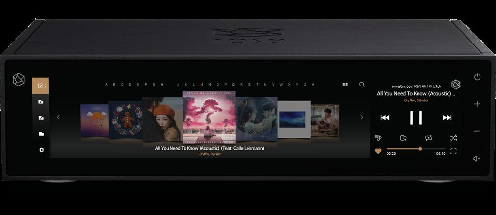 HiFi Rose RS150 - Đầu Streamer hi-end màn hình siêu lớn 15in, stream Youtube không quảng cáo ảnh 2
