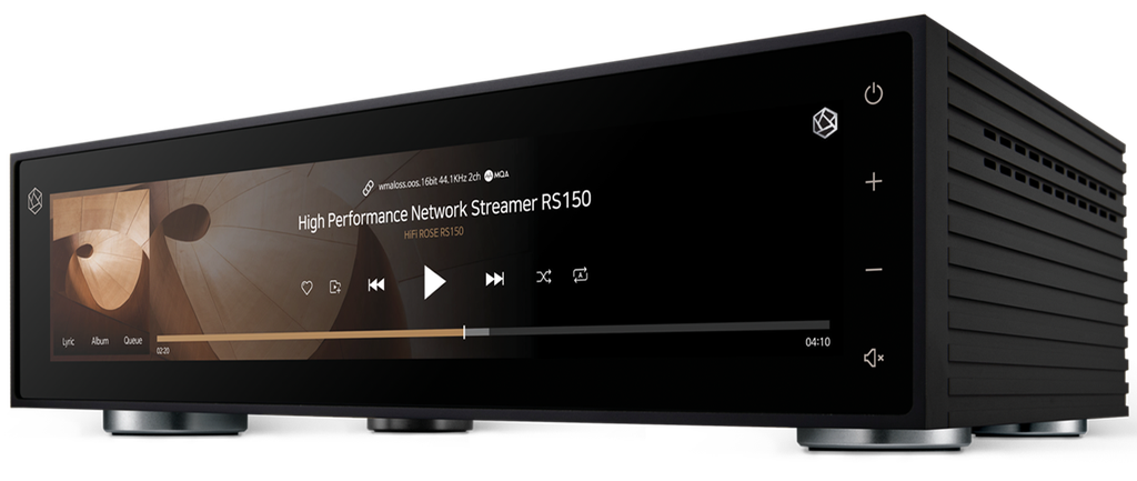 HiFi Rose RS150 - Đầu Streamer hi-end màn hình siêu lớn 15in, stream Youtube không quảng cáo ảnh 11