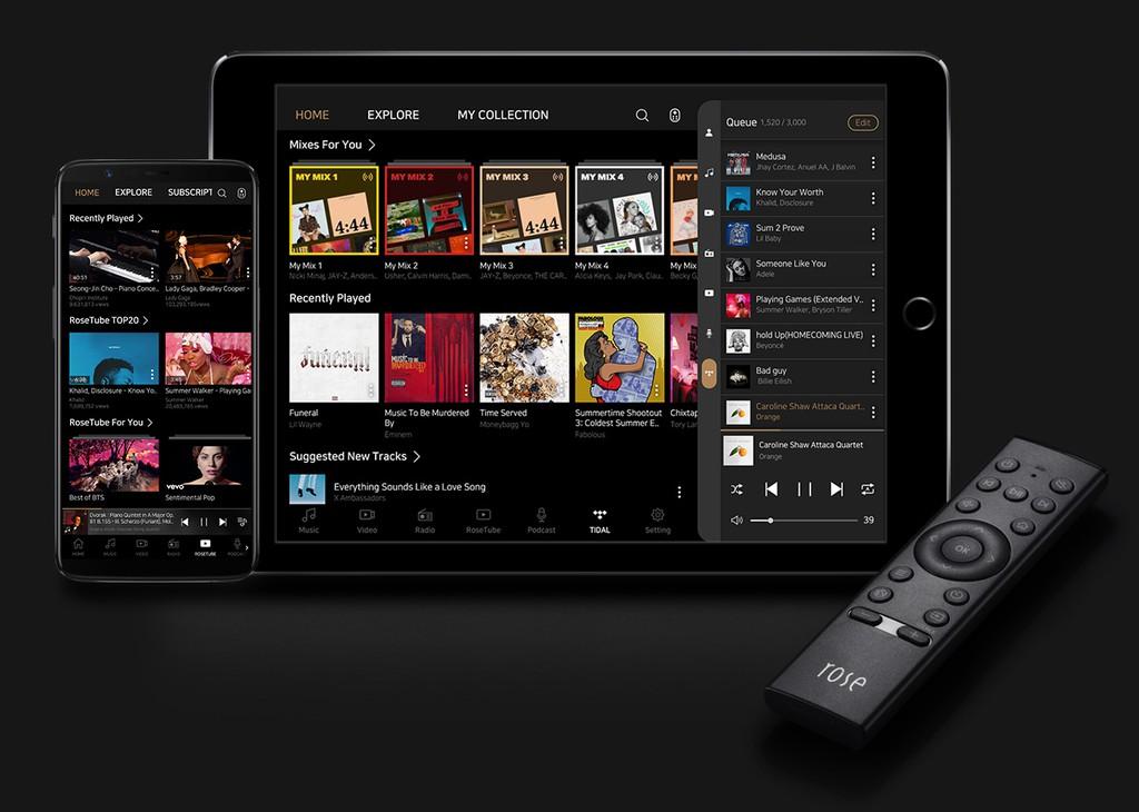 HiFi Rose RS150 - Đầu Streamer hi-end màn hình siêu lớn 15in, stream Youtube không quảng cáo ảnh 8