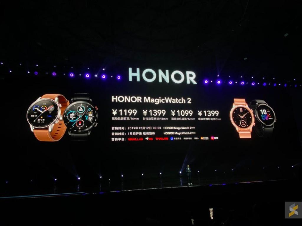 Honor Magic Watch 2 ra mắt: Kirin A1, pin 14 ngày giá từ 156 USD ảnh 6