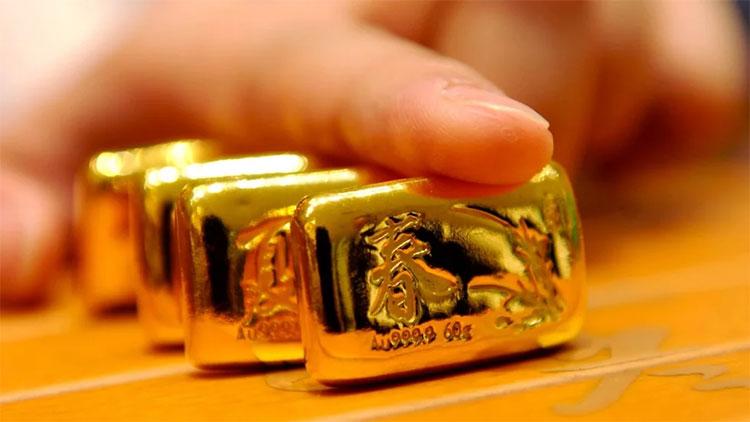 Vàng nguyên khối