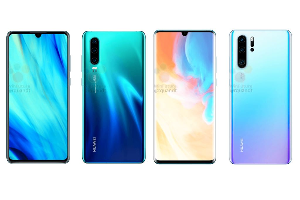 Huawei P30 và P30 Pro lộ diện thông qua hình ảnh render chi tiết ảnh 1