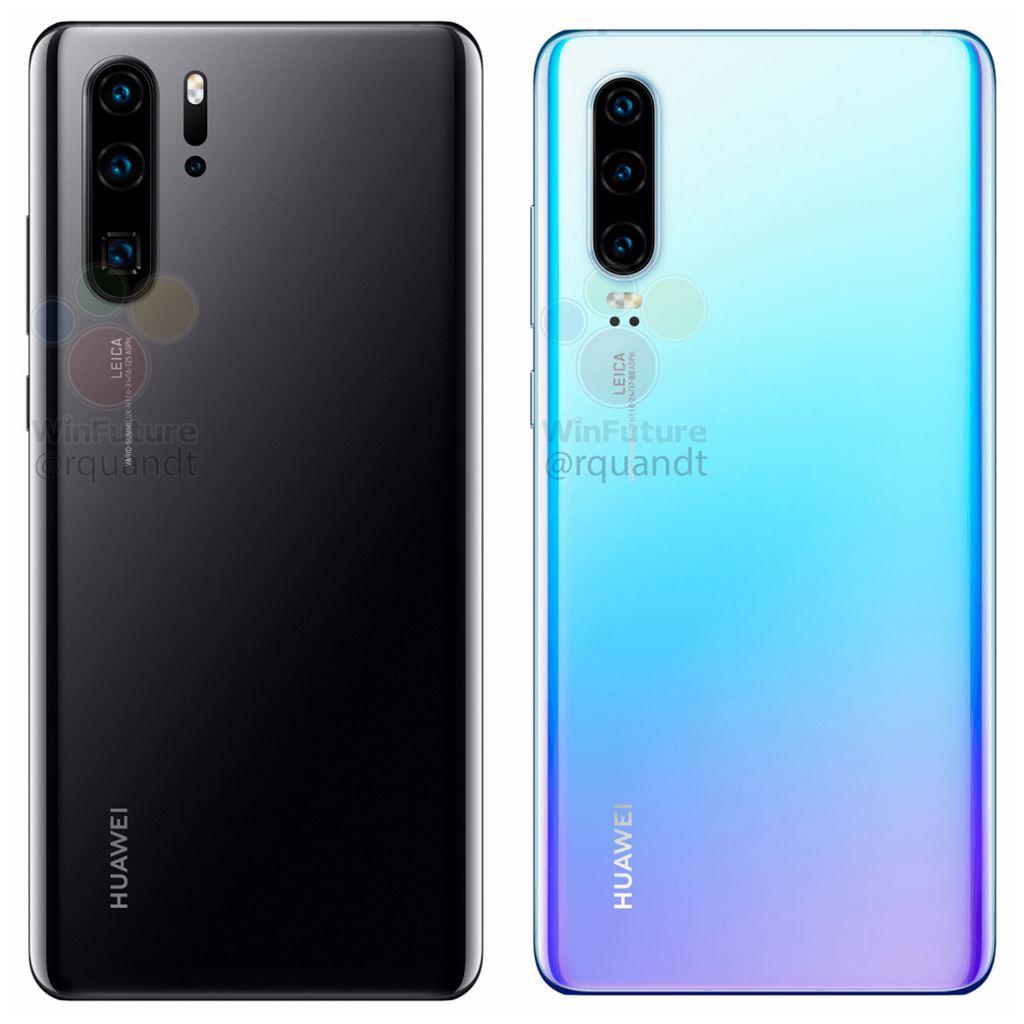Huawei P30 và P30 Pro lộ diện thông qua hình ảnh render chi tiết ảnh 5