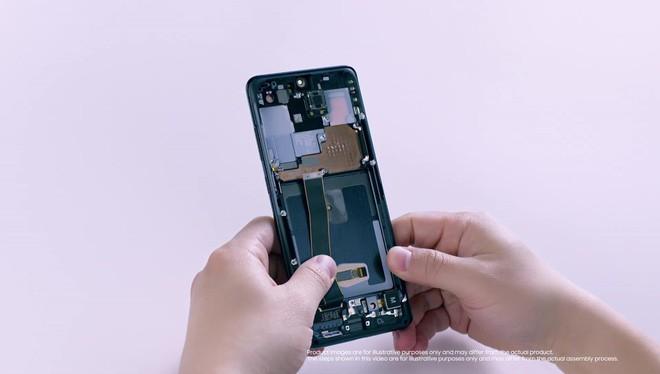 Mổ bụng Galaxy S20 Ultra: Có gì bên trong flagship mới nhất của Samsung? - Ảnh 3.