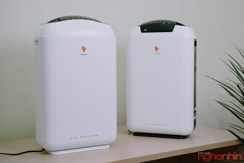 Cận cảnh máy lọc không khí Vsmart giá 3 triệu: nhỏ gọn, đầy đủ tính năng  ảnh 1