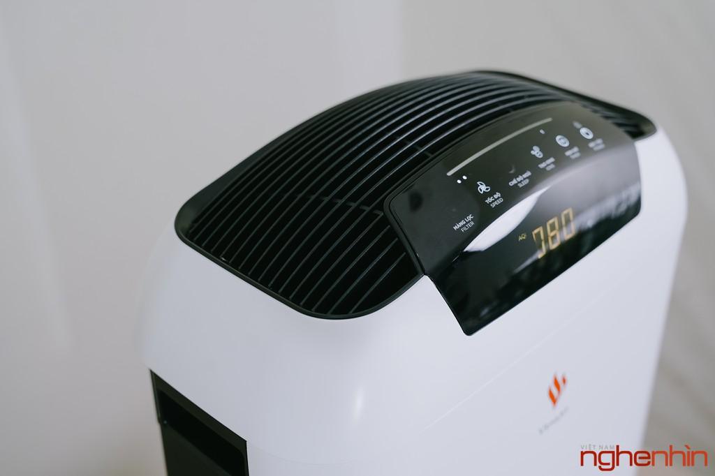 Cận cảnh máy lọc không khí Vsmart giá 3 triệu: nhỏ gọn, đầy đủ tính năng  ảnh 11