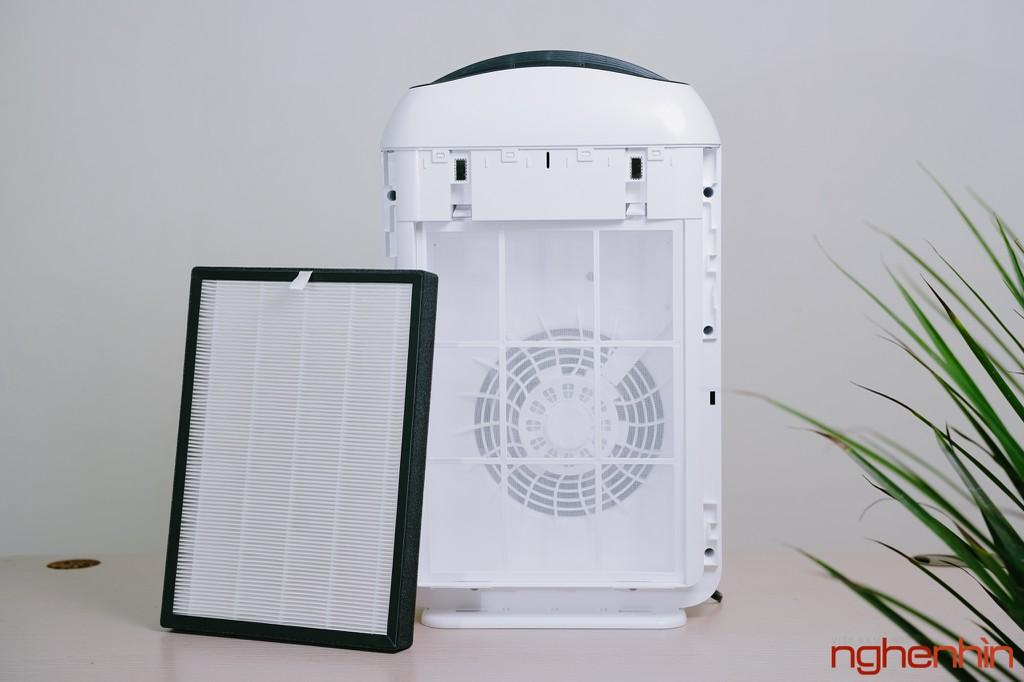 Cận cảnh máy lọc không khí Vsmart giá 3 triệu: nhỏ gọn, đầy đủ tính năng  ảnh 14