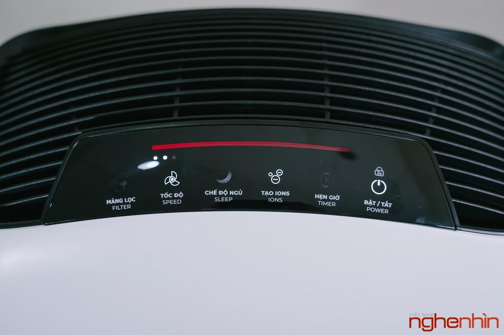 Cận cảnh máy lọc không khí Vsmart giá 3 triệu: nhỏ gọn, đầy đủ tính năng  ảnh 18