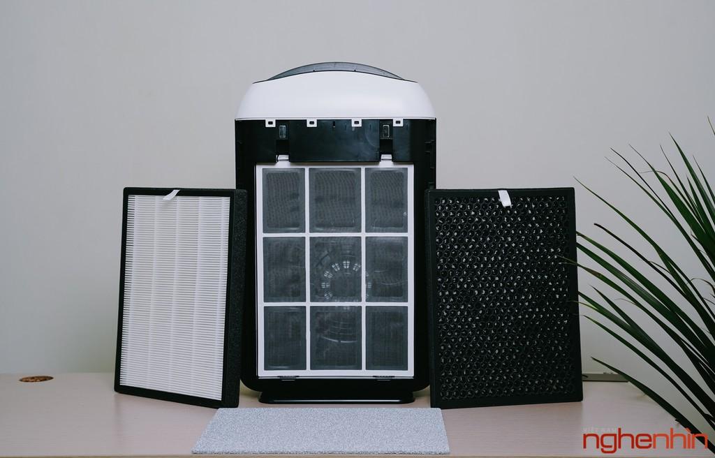 Cận cảnh máy lọc không khí Vsmart giá 3 triệu: nhỏ gọn, đầy đủ tính năng  ảnh 6