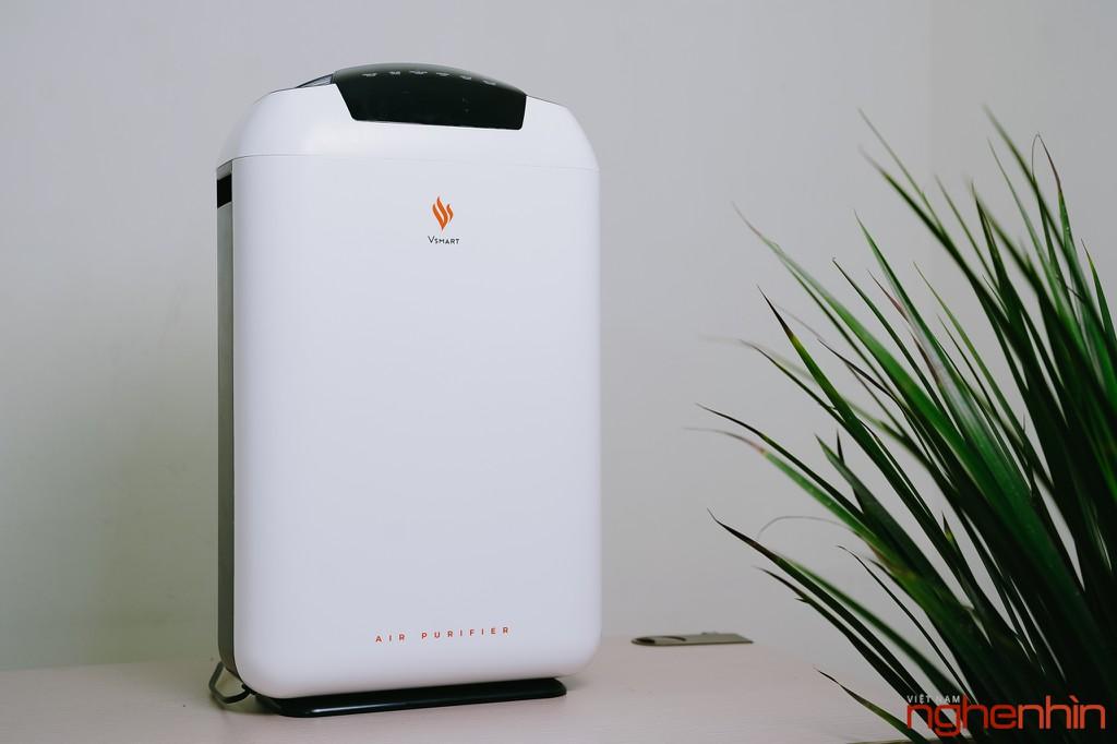 Cận cảnh máy lọc không khí Vsmart giá 3 triệu: nhỏ gọn, đầy đủ tính năng  ảnh 9