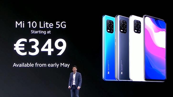 Xiaomi ra mắt Mi 10 Lite 5G: Snapdragon 765G, camera 48MP, giá từ 383 USD ảnh 3