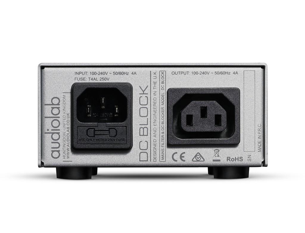 Audiolab DC Block - Lọc nguồn kép nhỏ gọn, ngăn rò DC và chống nhiễu hiệu quả ảnh 2