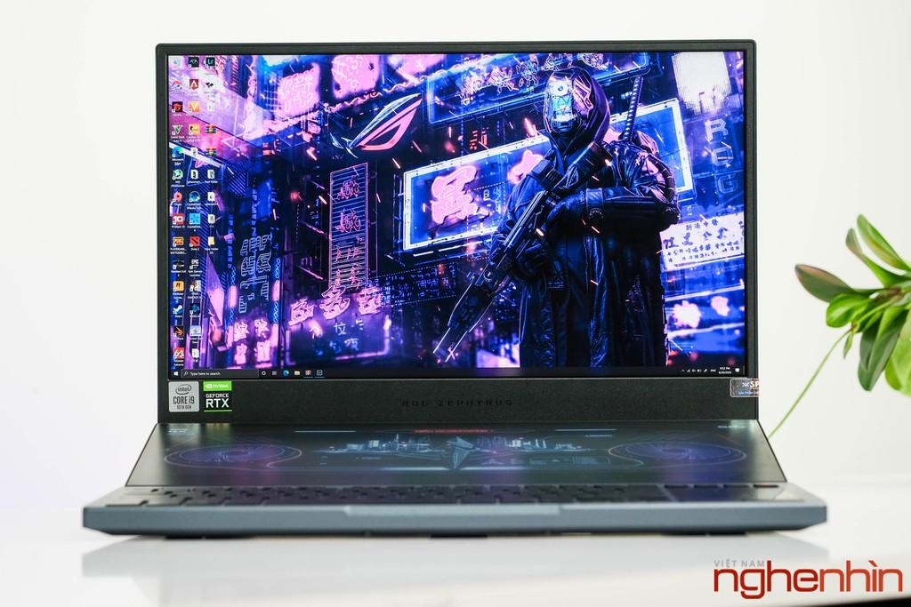Trên tay laptop gaming 2 màn hình ROG Zephyrus Duo 15 thế hệ mới giá từ 80 triệu ảnh 2