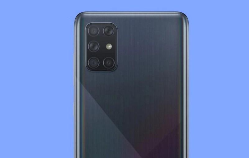 Galaxy A72 se trang bi toi 5 camera sau?