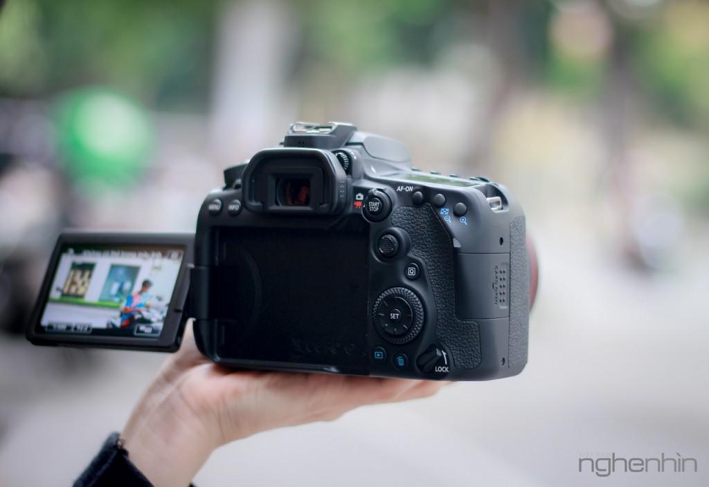 Trên tay Canon EOS 90D tại Việt Nam: nâng cấp toàn diện, lấy nét nhanh, quay video 4K ảnh 11