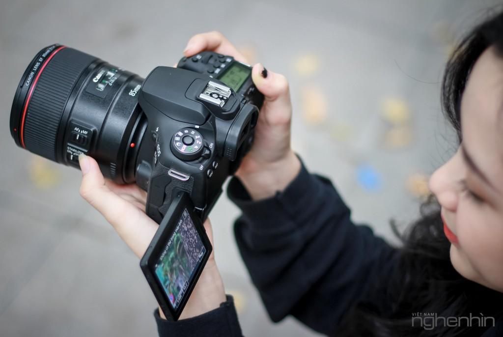 Trên tay Canon EOS 90D tại Việt Nam: nâng cấp toàn diện, lấy nét nhanh, quay video 4K ảnh 8