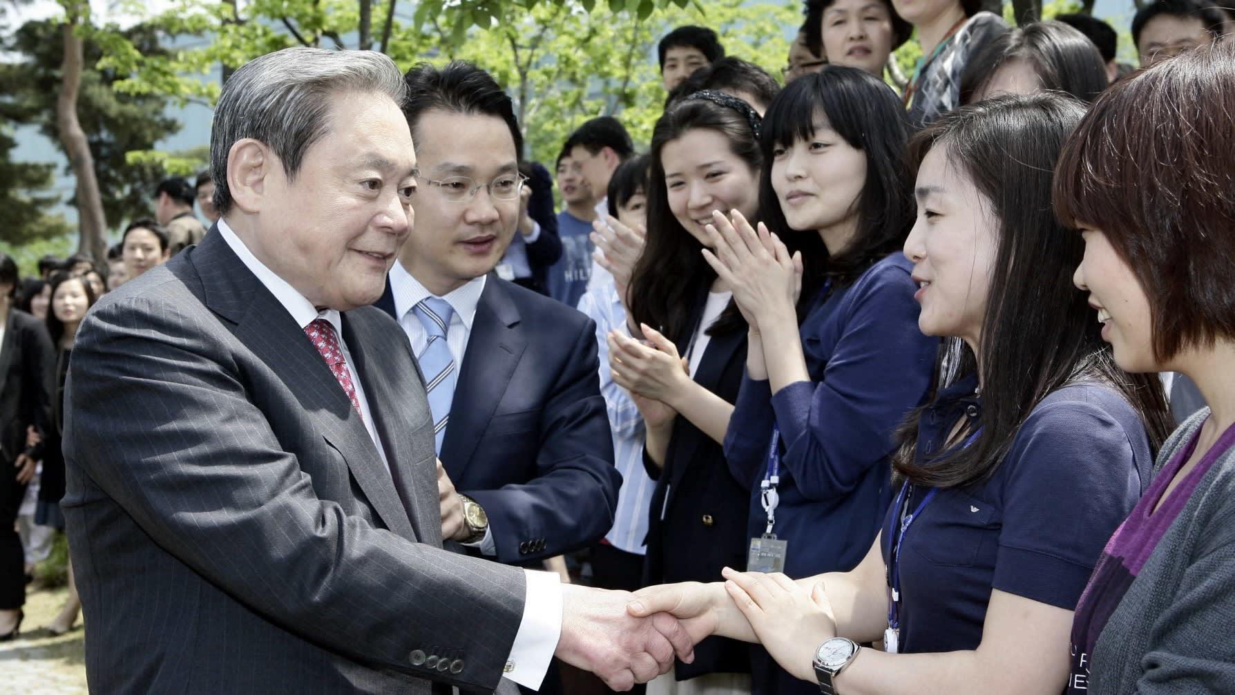 'Đổi việc, không đổi vợ con' và những câu nói nổi tiếng của cố Chủ tịch Samsung