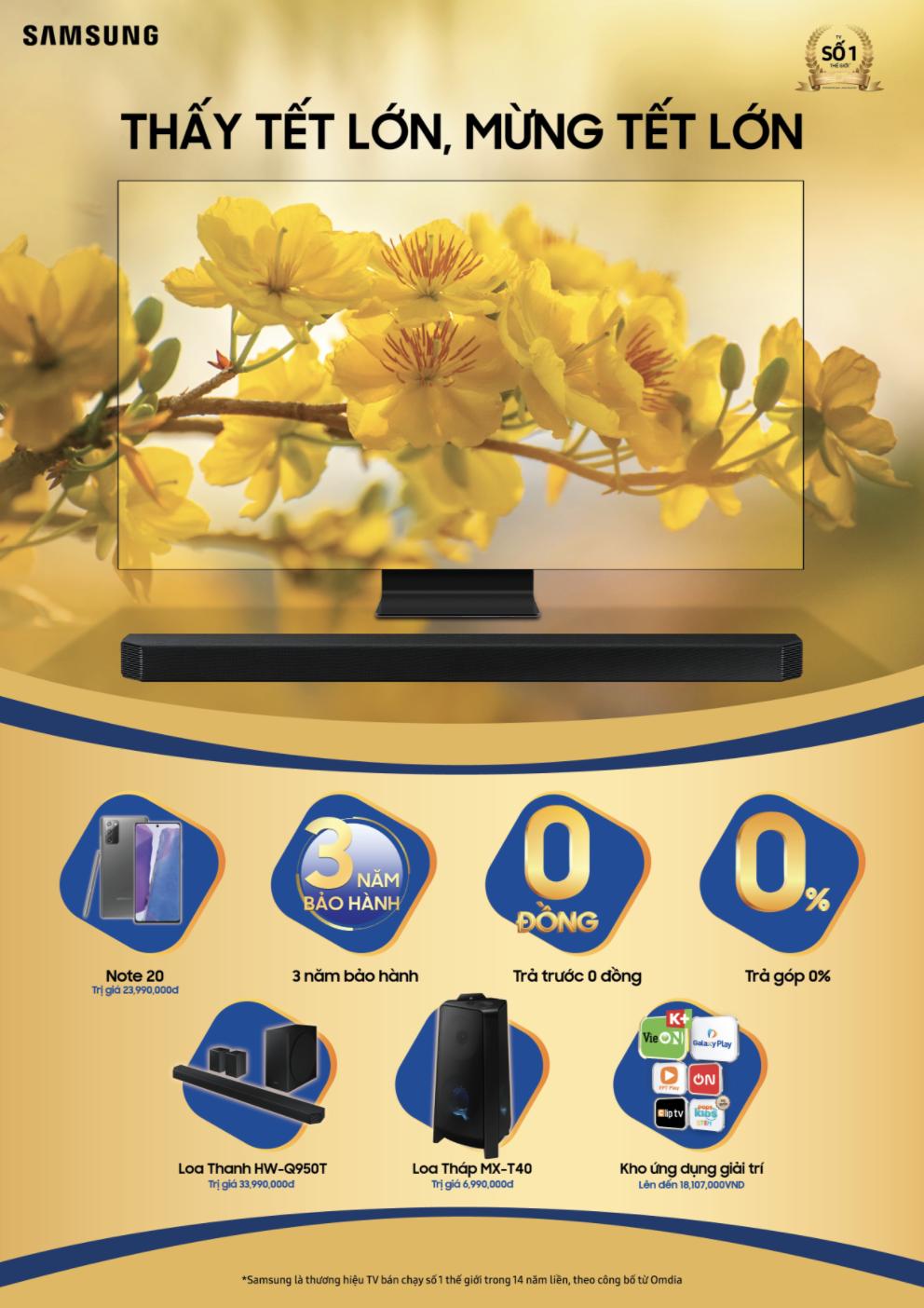Chọn TV đón tết: Samsung 8K QLED Q950TS 2020 tốt nhất? ảnh 8