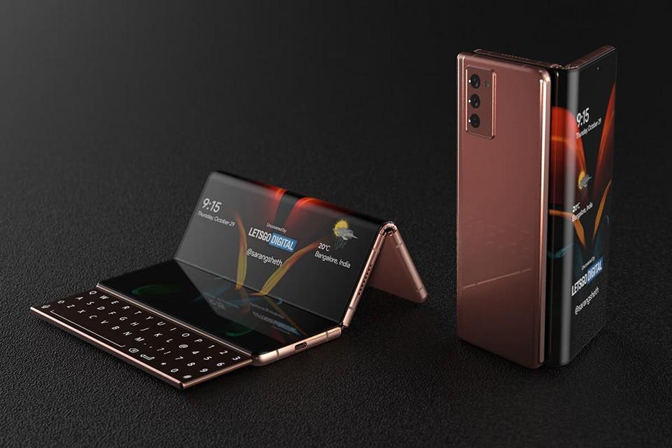 Galaxy Z Fold3 được phát hiện có khe chứa bút S Pen ảnh 1