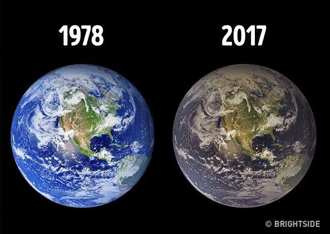 Trái Đất bị ô nhiễm nghiêm trọng, đó không phải là tin tức mới.