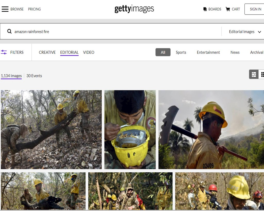 Cách xác thực hình ảnh để tránh share nhầm như nhiều ngôi sao nổi tiếng trong vụ cháy rừng Amazon