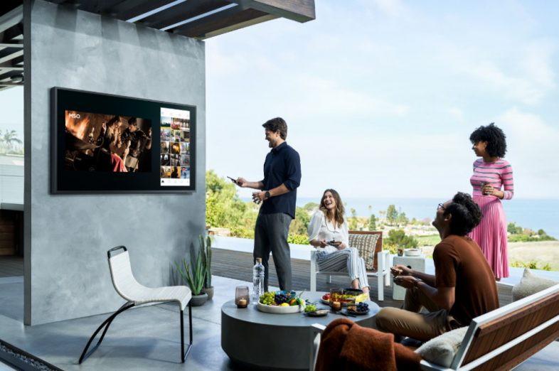 Samsung The Terrace–TV QLED ngoài trời đầu tiên trên thế giới ra mắt tại Việt Nam giá từ 100 triệu ảnh 1