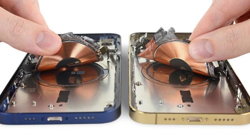 iPhone 12 bị ẩn tính năng sạc ngược không dây ảnh 2